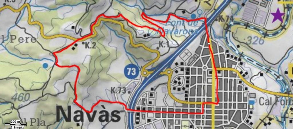 Mapa Volta a Vilafresca